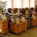 Pittarc a sidergas. zvárací drôt je balený na cievkach a v sudoch
